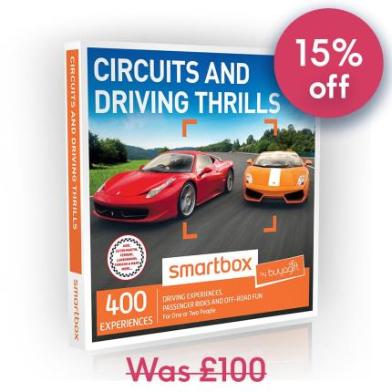 Gift Experiences - Smartbox Circuits and Driving Thrills Gift Experience - Image 1
