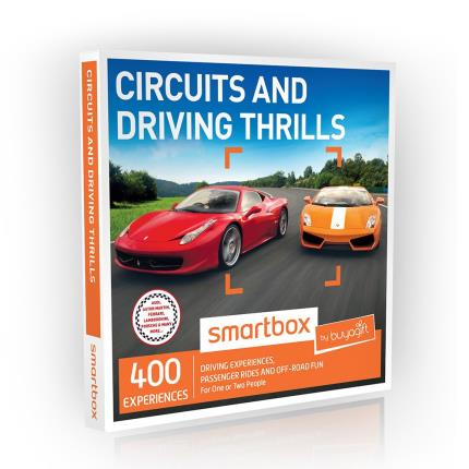 Gift Experiences - Smartbox Circuits and Driving Thrills Gift Experience - Image 2