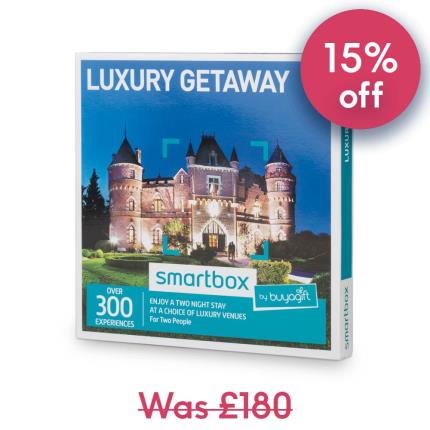 Gift Experiences - Smartbox Two Night Luxury Getaway Gift Experience - Image 1