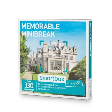 Gift Experiences - Smartbox Two Night Memorable Minibreak Gift Experience - Image 2