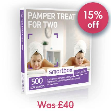 Gift Experiences - Smartbox Pamper Treat For Two Gift Experience - Image 1