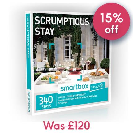 Gift Experiences - Smartbox Scrumptious Stay Gift Experience - Image 1