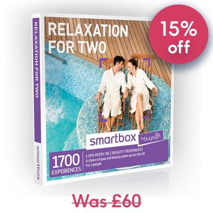 Gift Experiences - Smartbox Relaxation for Two Experience Gift Voucher - Image 1