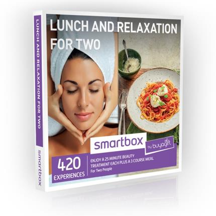 Gift Experiences - Smartbox Lunch & Relaxation for Two Gift Experience - Image 1