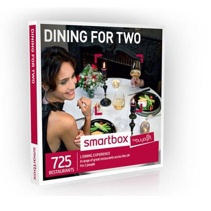 Gift Experiences - Smartbox Dining for Two Gift Experience - Image 1