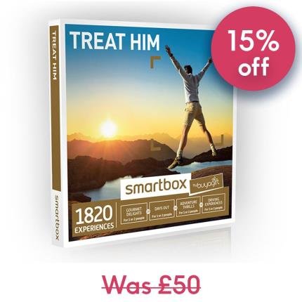 Gift Experiences - Smartbox Treat Him Gift Experience - Image 1
