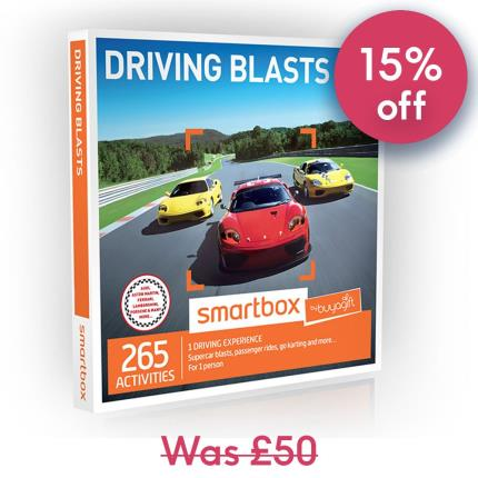 Gift Experiences - Smartbox Driving Blasts Gift Experience - Image 1