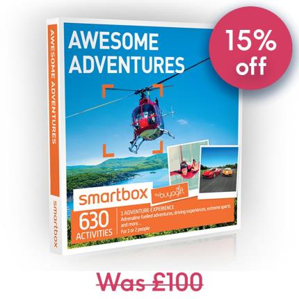 Gift Experiences - Smartbox Awesome Adventures Gift Experience - Image 1