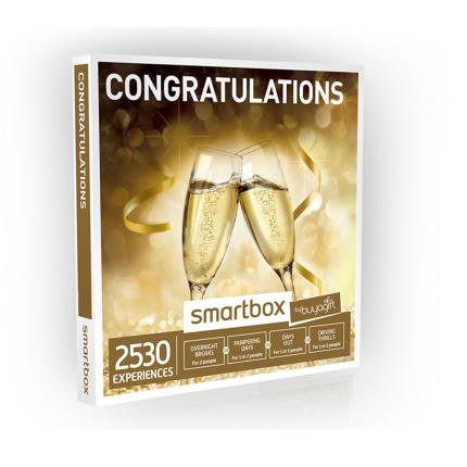 Gift Experiences - Smartbox Congratulations Gift Experience - Image 1