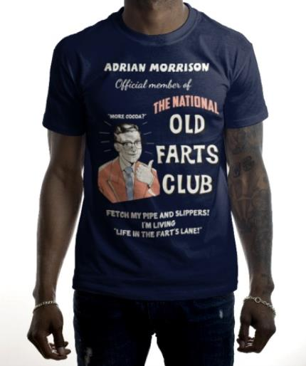 T-Shirts - Old Farts Club Photo Upload T-Shirt - Image 2