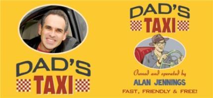 Mugs - Dad's Taxi Personalised Name and Photo Mug - Image 4