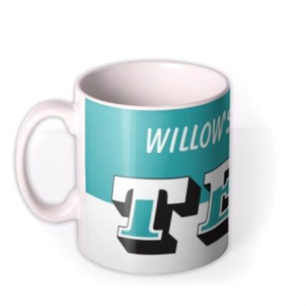 Mugs - Mother's Day Name Tea Personalised Mug - Image 1