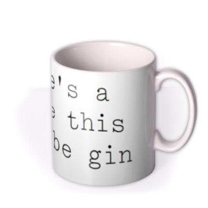 Mugs - Might Be Gin Personalised Mug - Image 2