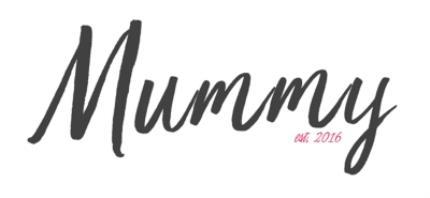Mugs - Mother's Day Mummy Calligraphy Personalised Mug - Image 4