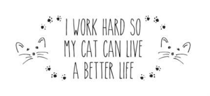 Mugs - Work Hard Cat Personalised Mug - Image 4