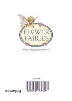 Greeting Cards - Little Flower Fairies And Tag Personalised Happy Birthday Card - Image 4