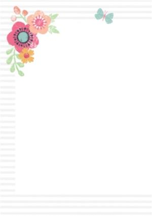 Greeting Cards - Mother's Day Card - Mum - Floral Mothering Sunday Card - Image 2