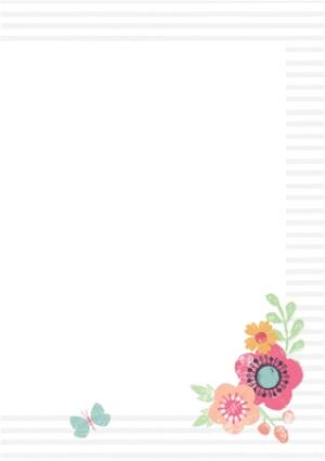 Greeting Cards - Mother's Day Card - Mum - Floral Mothering Sunday Card - Image 3