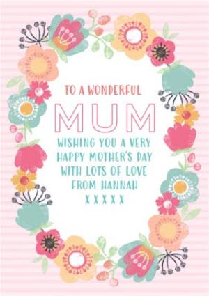 Greeting Cards - Mother's Day Card - Mum - Floral Card - Image 1