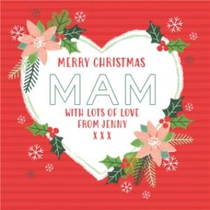 Greeting Cards - Mam Christmas Card  - Image 1