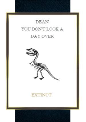 Greeting Cards - Birthday Card - Dinosaur - Extinct - Image 1