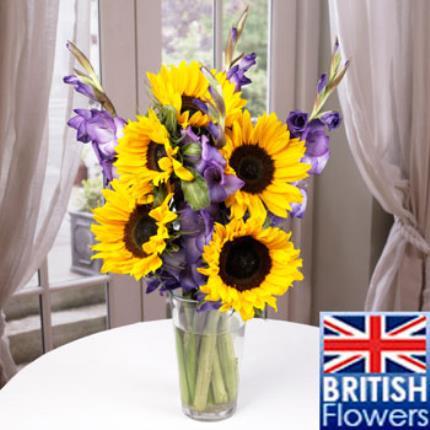 Plants -  British Sunflower & Gladioli - Image 2