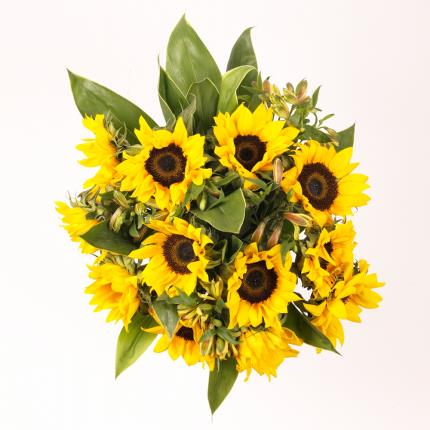Plants - Fairtrade™ Sunflower Bouquet - Image 3