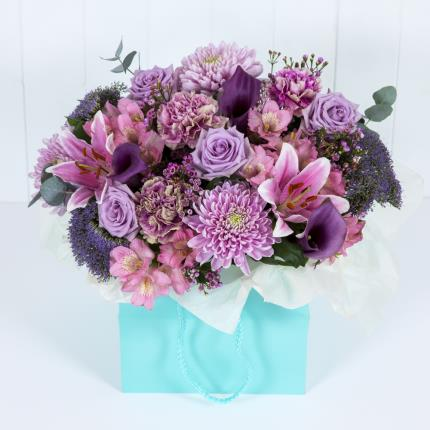 Plants - Luxury Lilac Gift Bag - Image 2