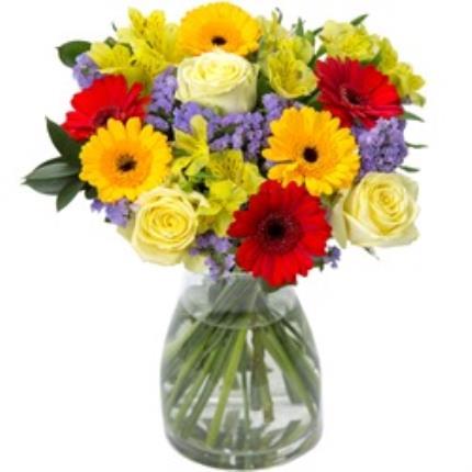 Plants - Rose & Germini Bouquet  - Image 4