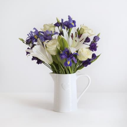 Plants - The Rose and Iris Jug - Image 2