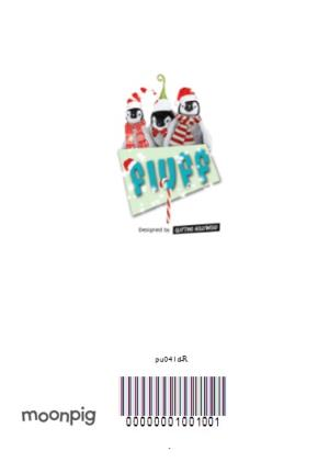 Greeting Cards - Baby Penguins Have A Flipping Good Christmas Card - Image 4