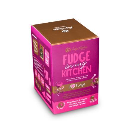 Food Gifts - Fudge Kitchen Love Home Kit - Image 3