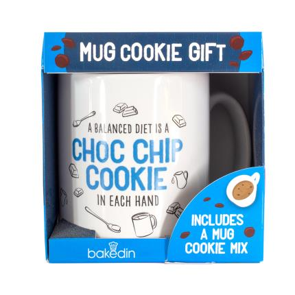 Food Gifts - BakedIn Mug Cookie Kit Sweet Gift - Image 2