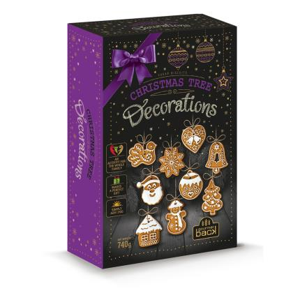 Food Gifts - Treat Kitchen Make Your Own Gingerbread Tree Decorations - Image 1