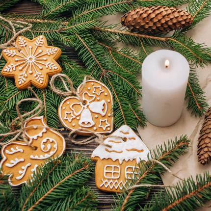 Food Gifts - Treat Kitchen Make Your Own Gingerbread Tree Decorations - Image 2