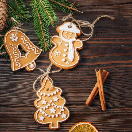 Food Gifts - Treat Kitchen Make Your Own Gingerbread Tree Decorations - Image 3