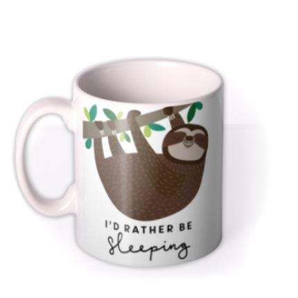 Mugs - Mug - Sleep - Sleeping - Sloth - Image 1