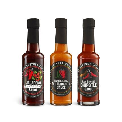 Food Gifts - Love Chilli Sauce Trio - Image 2