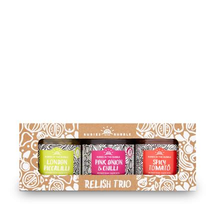 Food Gifts - Rubies in the Rubble Classic Relish Gift Set - Image 2