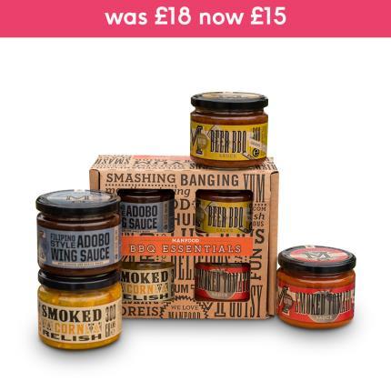 Food Gifts - Manfood BBQ Kit Gift Box - Image 1