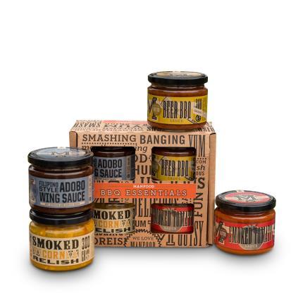 Food Gifts - Manfood BBQ Kit Gift Box - Image 2