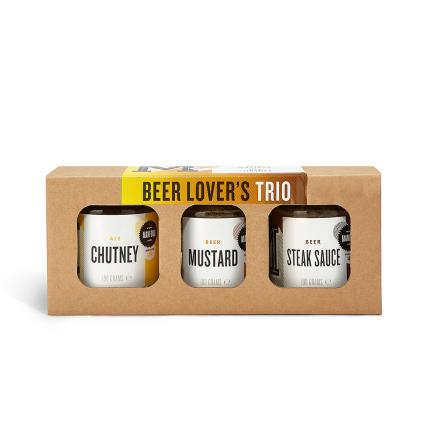 Food Gifts - Beer Lovers Trio of Condiments - Image 1