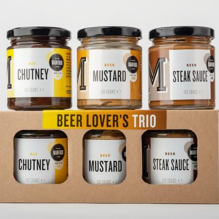 Food Gifts - Beer Lovers Trio of Condiments - Image 2