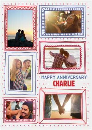 Greeting Cards - Anniversary Card - Photo Upload - Image 1