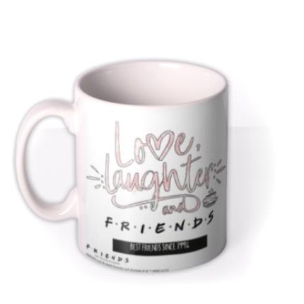 Mugs - Friends TV Love Laughter And Friends Mug  - Image 1