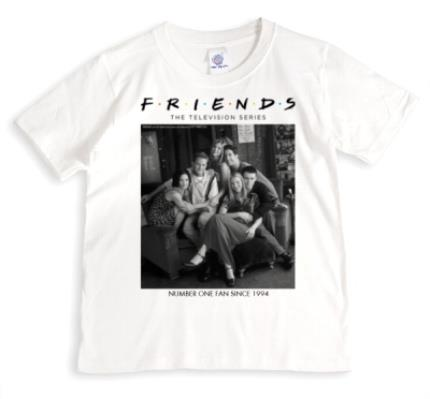 T-Shirts - Friends TV - T-SHIRT - Number One fan Since 1994 - Image 1