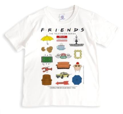 T-Shirts - Friends TV - T-SHIRT - Central Perk Regular since 1994 - Image 1