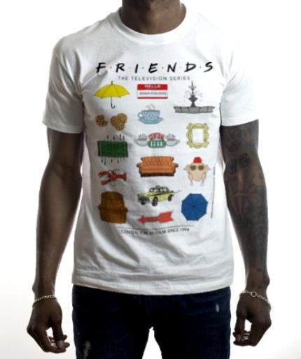 T-Shirts - Friends TV - T-SHIRT - Central Perk Regular since 1994 - Image 2