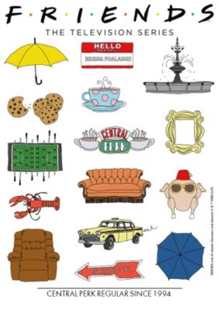 T-Shirts - Friends TV - T-SHIRT - Central Perk Regular since 1994 - Image 4