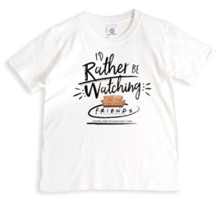 T-Shirts - Friends TV I'd Rather Be Watching Friends T-Shirt  - Image 1